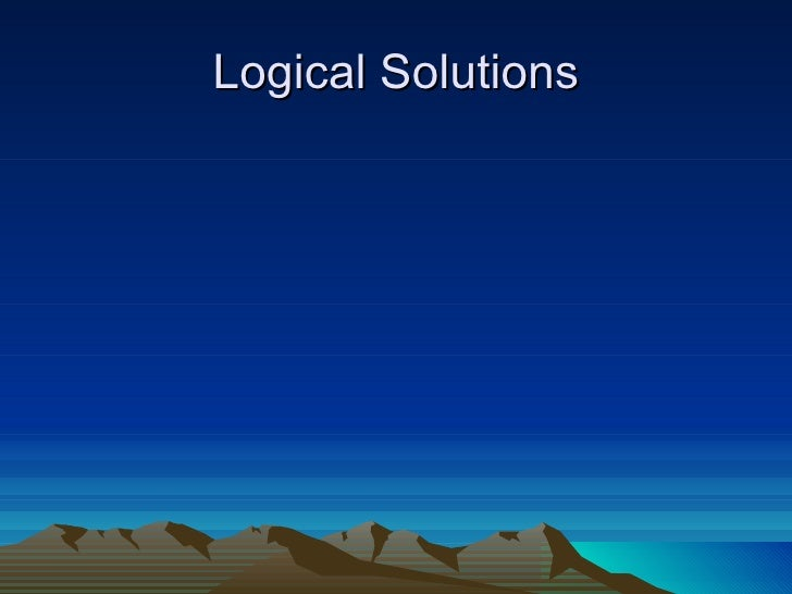 Logical Solutions
