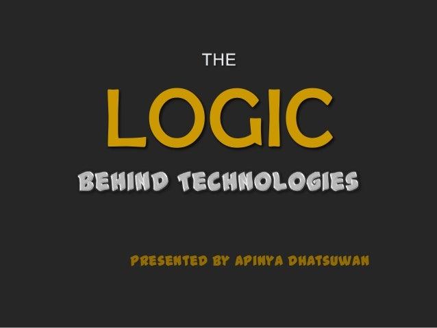 LOGIC presented by Apinya Dhatsuwan