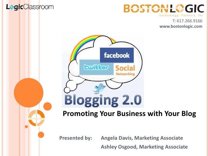 Blogging 2.0 | LogicClassroom by Boston Logic