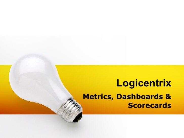 Logicentrix Metrics, Dashboards & Scorecards