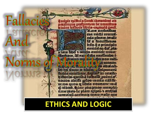 ethics and logic A brief argument for the necessity to employ logic and ethics in decision-making read the essay free on booksie.