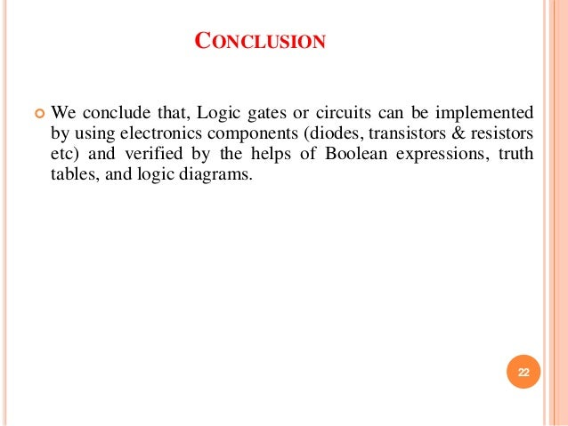 logic gate implementing without using ics by nimay giri rh slideshare net