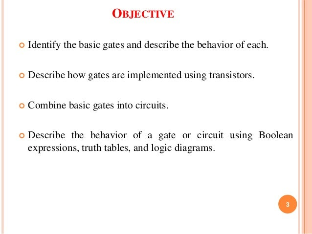 logic gate implementing without using ics by nimay giri rh slideshare net