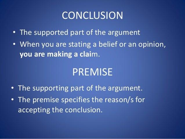 Premise Indicator Words: Logic Guide 1