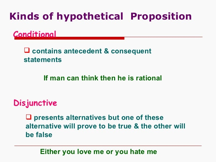 The Categorical Proposition in Logic