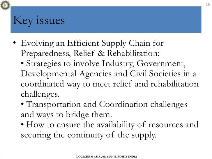 the role of disaster management in the supply chain practice Wwwscmrcom ten classics from supply chain management review 3 role of the rope in a very real tug of war supply chain initiatives undertaken by the most.