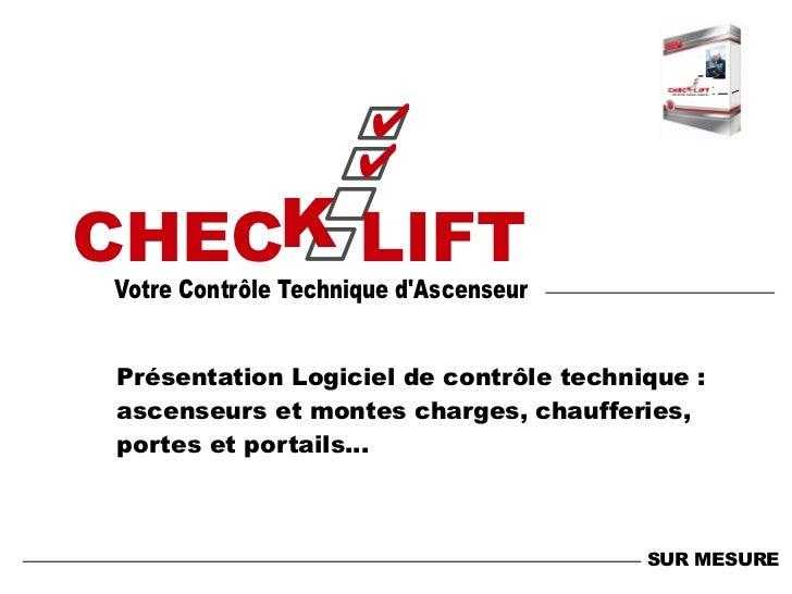 ✔                     ✔  c                        cCHECK LIFTVotre Contrôle Technique dAscenseur                          ...