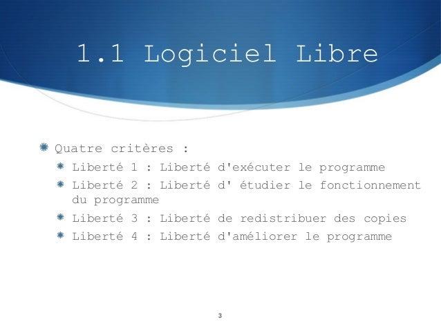 Logiciels Slide 3