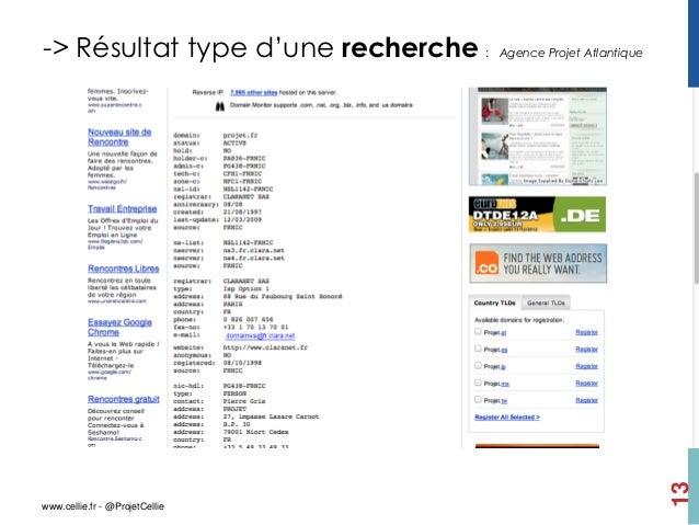 -> Résultat type d'une recherche :   Agence Projet Atlantique                                                             ...