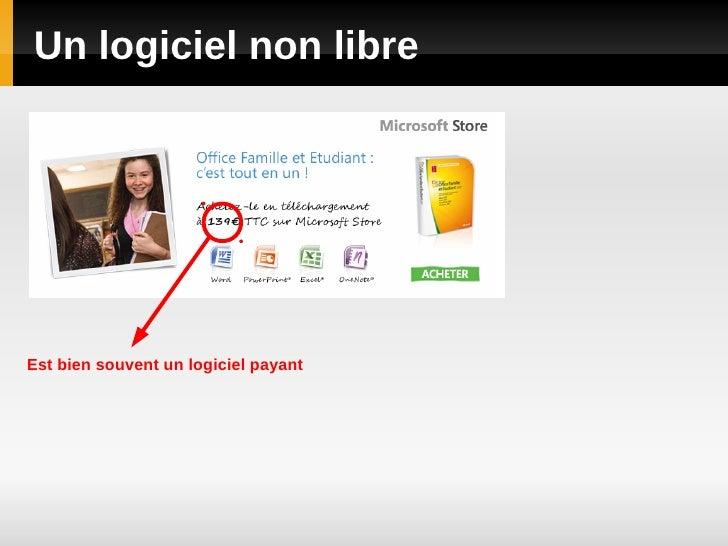 Logiciels libres Slide 2
