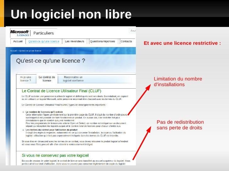 Logiciels libres Slide 3