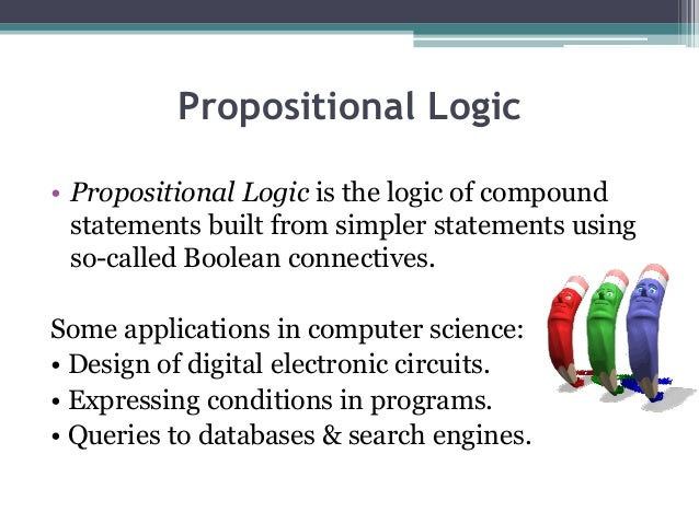 Write an assignment on application of propositional logic in computer science
