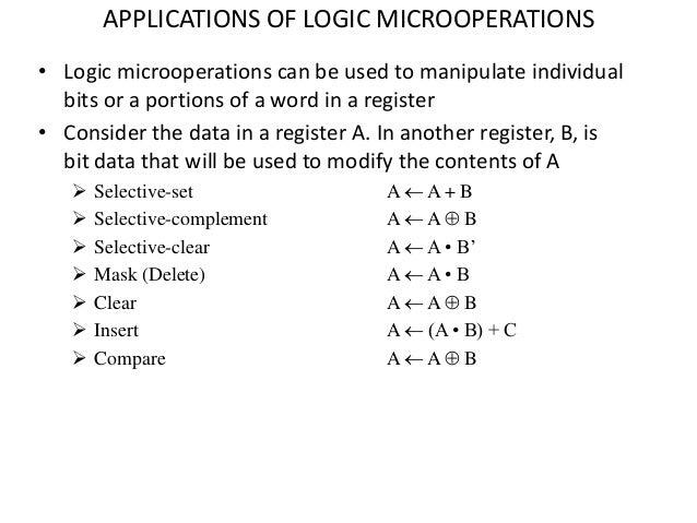define micro operation