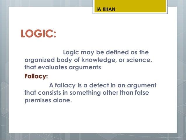 Fallacy of logic.