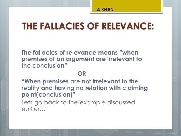 Logic presentation(Informal Fallacies)