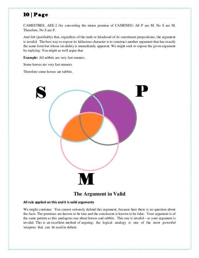 Of Diagram Venn Syllogism Eio 4 Diy Enthusiasts Wiring Diagrams