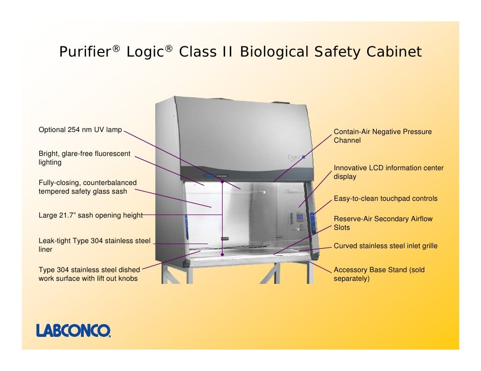 Purifier Logic Class Ii Biological Safety Cabinets