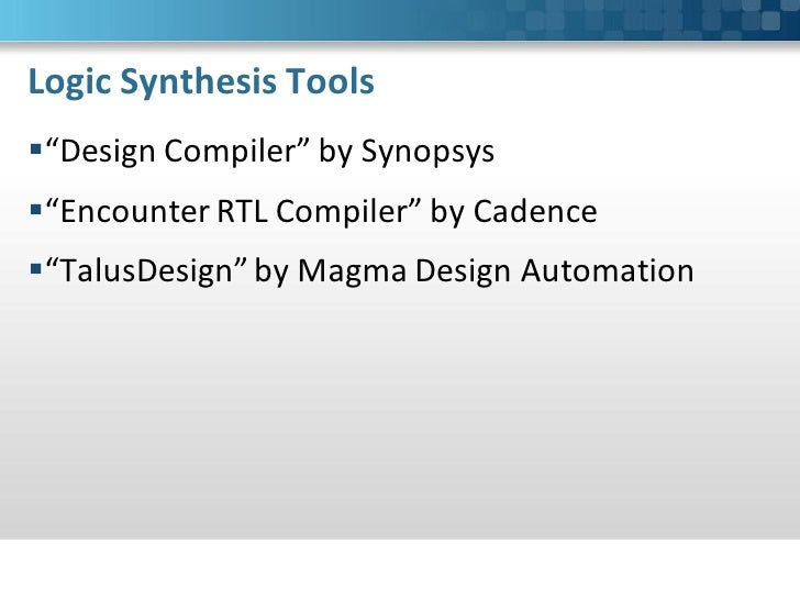 logic synthesis with synopsys design compiler rh slideshare net synopsys design compiler user manual free download Synopsys Design Constraints