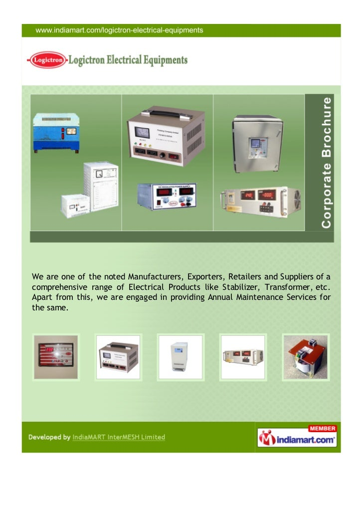 Logictron Electrical Equipments, Delhi, Electrical Products