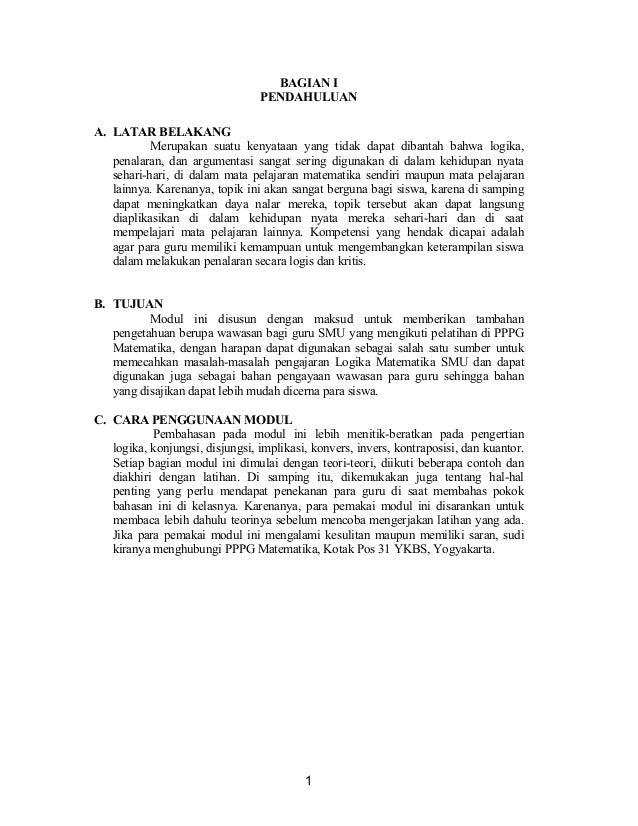 Materi Logika Matematika Kelas 10