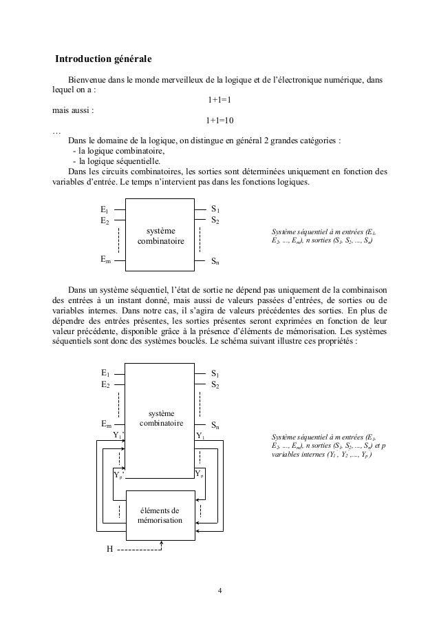 Logiques sequentielle for Porte logique and cmos