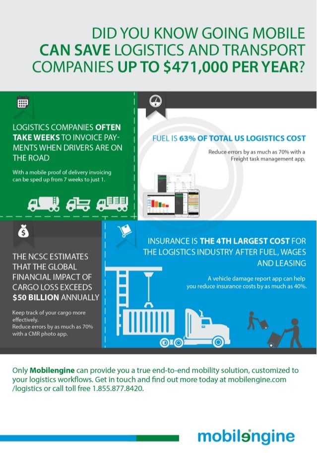 Enterprise Mobility for the Trucking Industry Infographic