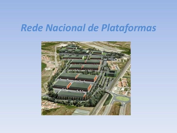 Rede Nacional de Plataformas<br />
