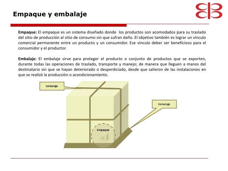 Logistica y terminos for Definicion exterior