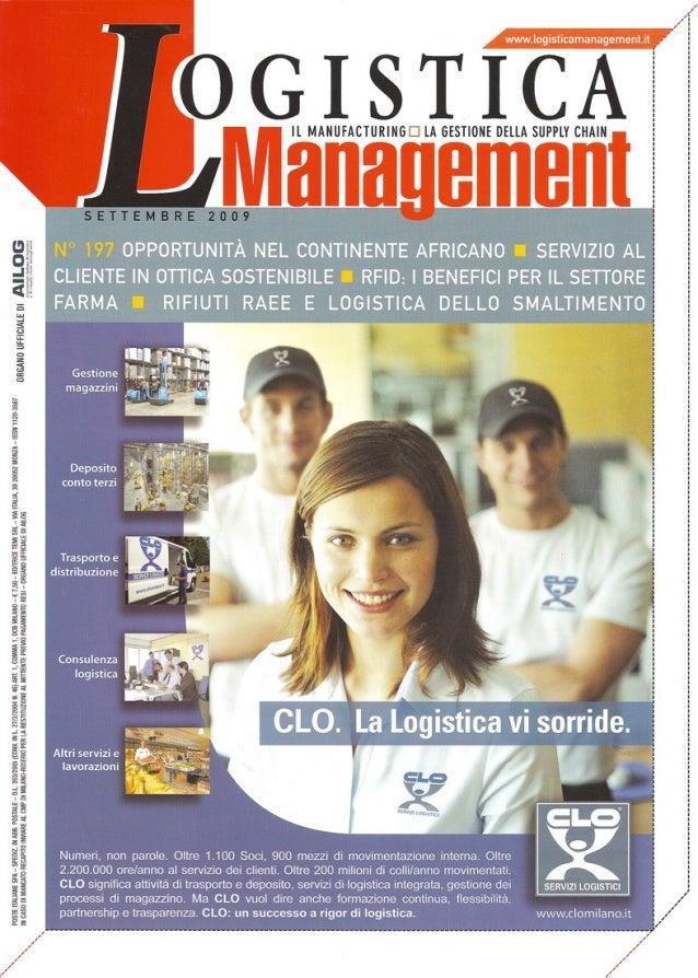 Logistica management settembre2009