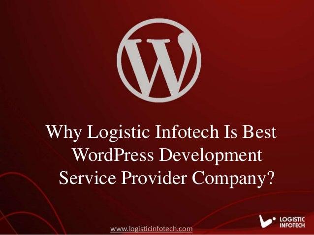 Logistic Infotech - Best WordPress Website Development Service Provid… - 웹