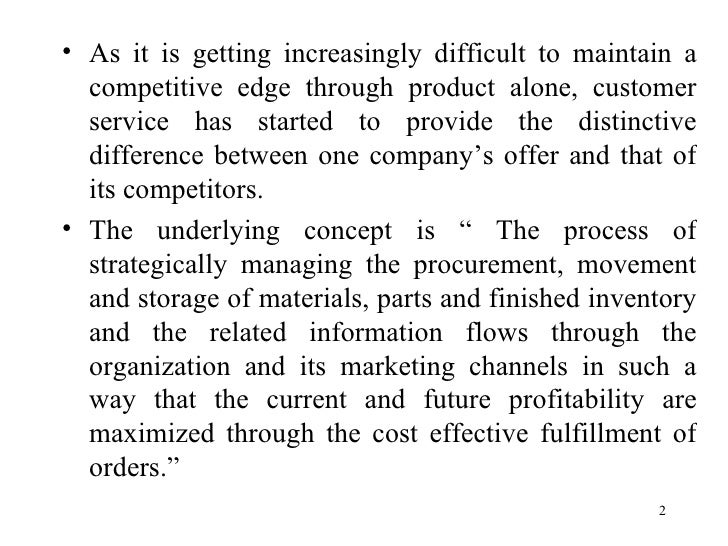difference between logistics and supply chain management pdf