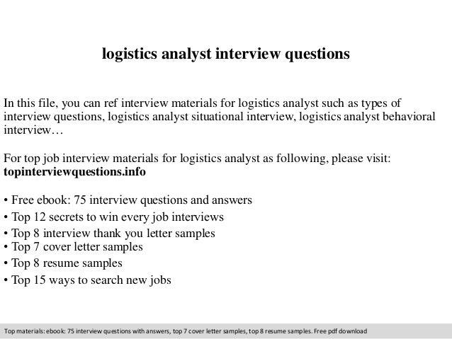 logistics analyst resume sample examples