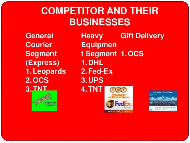 Comparative study between dhl fed ex