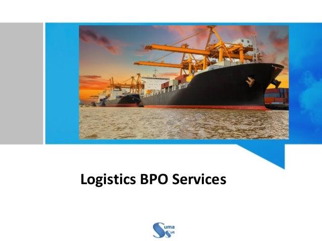 Logistics BPO Services