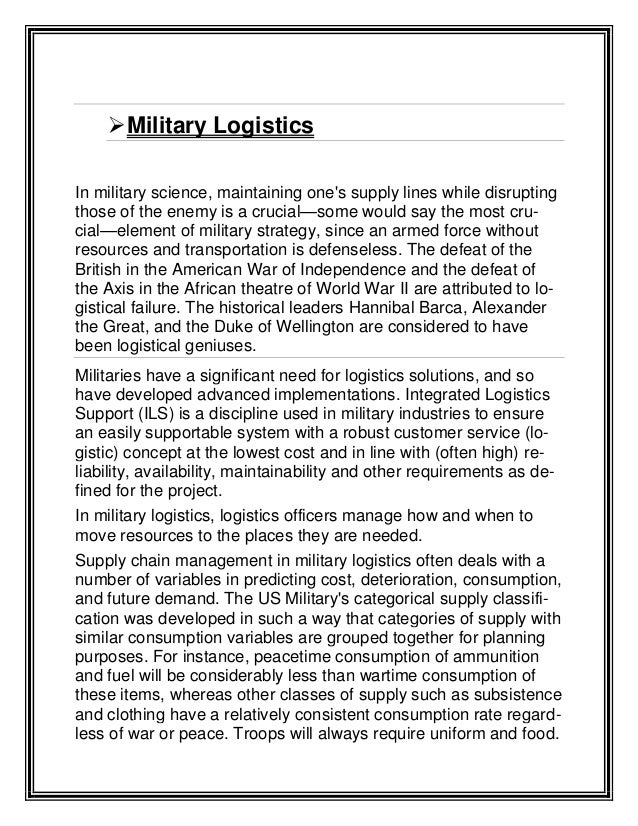 Military Jargon in Modern English&nbspTerm Paper
