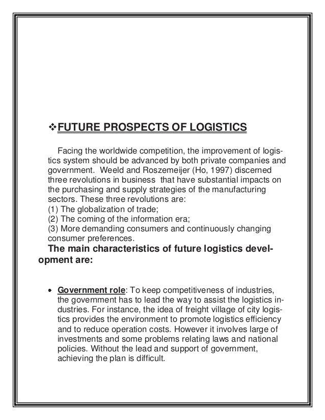 logistics management assignment The logistics management assignment help, organisation is selected as the john lewis partnership semi-automated national distribution center.