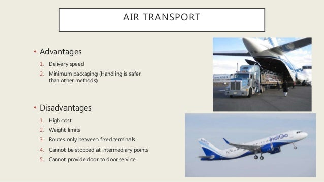 Logistics of transportation & distribution