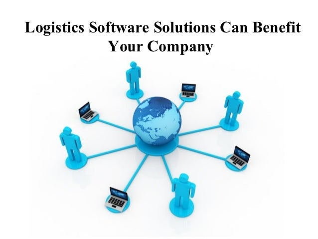 Logistics Software Solutions Can Benefit            Your Company             Free Powerpoint Templates                    ...