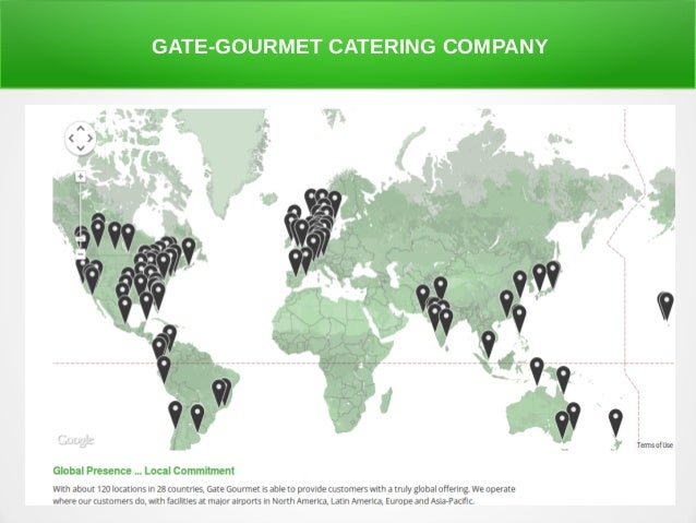 airline catering This statistic shows the global market share of the airline catering industry in 2016, by catering service provider in that year, gategroup held the largest share of the airline catering market at 24 percent.