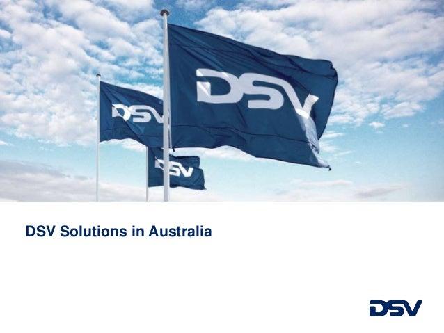 DSV Solutions in Australia
