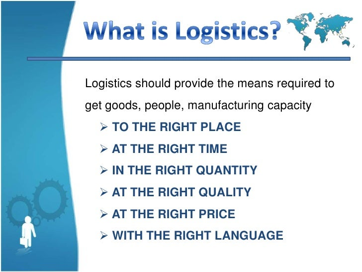 what is logistics Many companies use logistics management systems to maximize efficient use and movement of goods and services through a supply chain read on for more about logistics management, educational courses in the field and career opportunities for those with a background in logistics management schools .