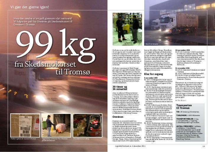Logistikk Nettverk Nr 4 2011