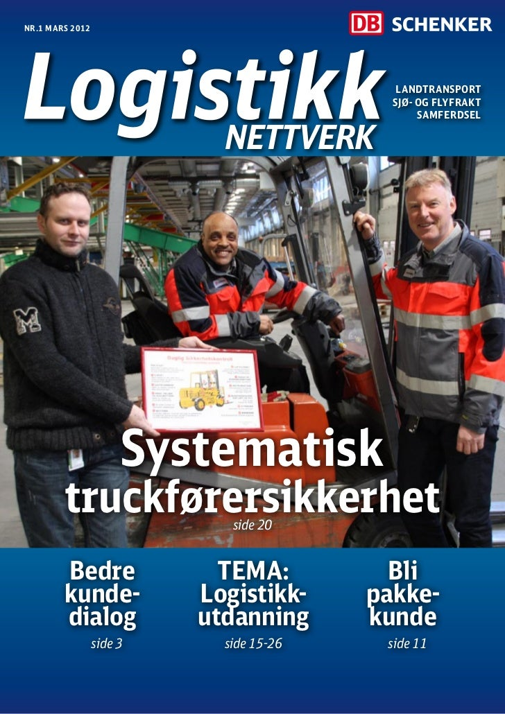 Nr.1 mars 2012                                            Landtransport                                           Sjø- og ...