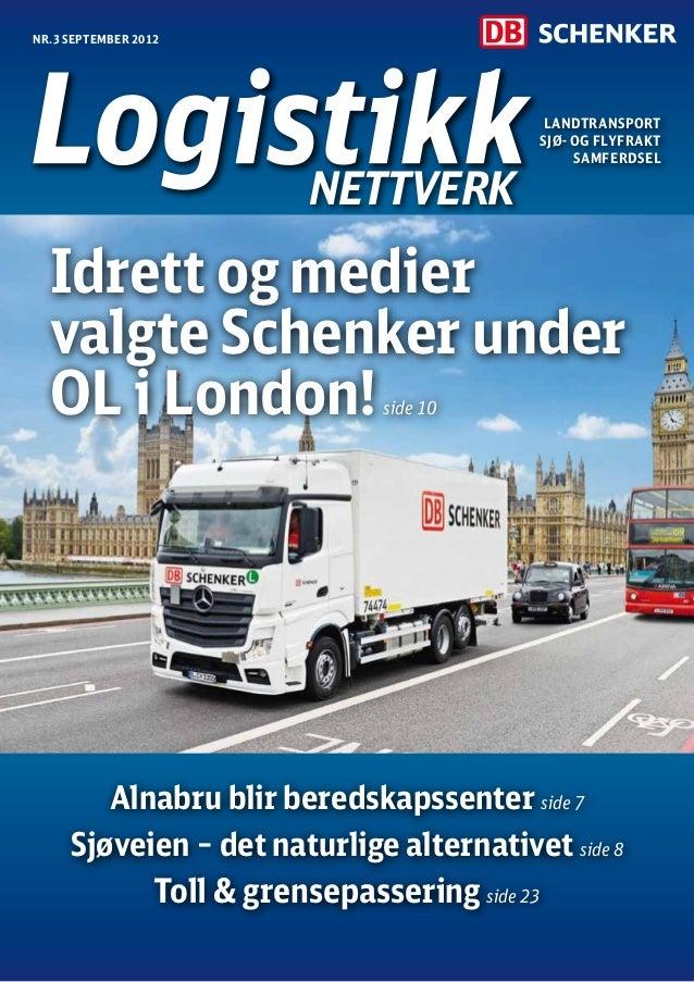 Nr.3 september 2012                                           Landtransport                                          Sjø- ...