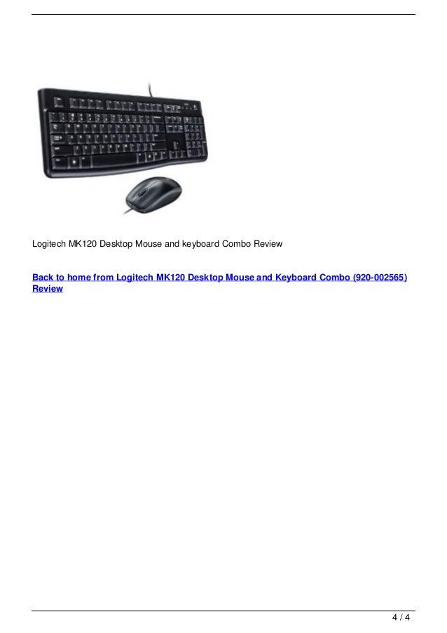 logitech mk120 desktop mouse and keyboard combo 920 002565 review. Black Bedroom Furniture Sets. Home Design Ideas