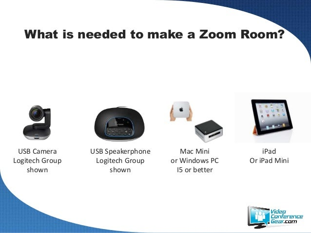 Conference Room Mount Zoom