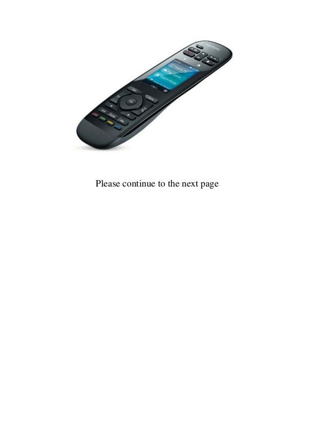 Logitech Harmony Ultimate One Remote Control - Black  Slide 2