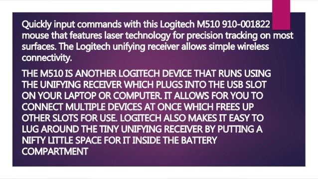 Logitech wireless mouse review