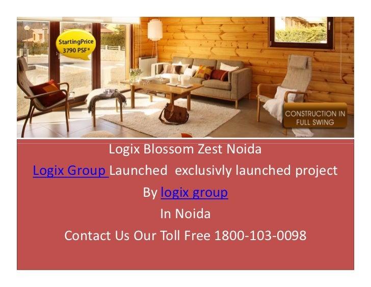 Logix blossom greens noida by logix group