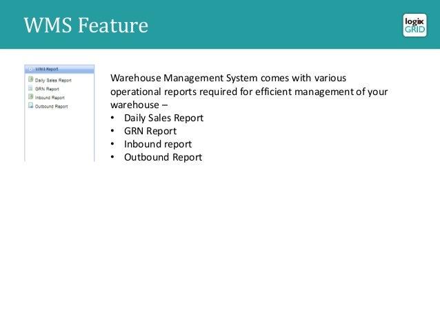 Logixgrid Warehouse Management System